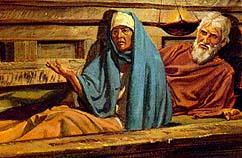 Laman and Lemuel tie up Nephi