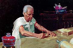 Enos served God