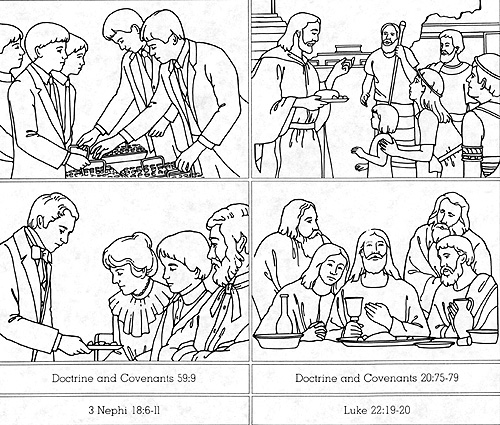 coloring pages nephi liahona - photo#8