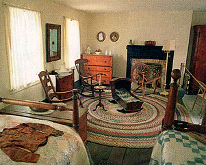 Bedroom of the Jonathan Browning house