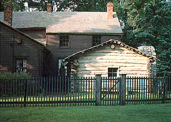 The Joseph Smith family may have used this log cabin