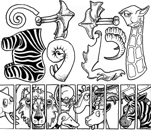 Animal cutouts