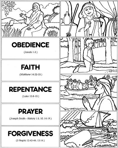 scripture drawings