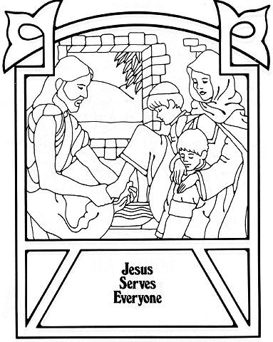 Jesus Serves Everyone