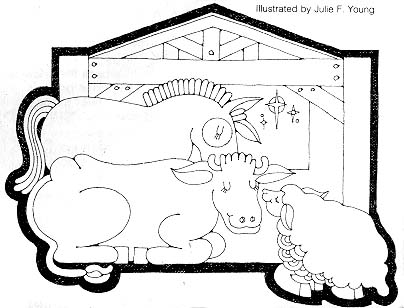 the nativity liahona rh lds org LDS Primary Clip Art LDS Temple Drawing