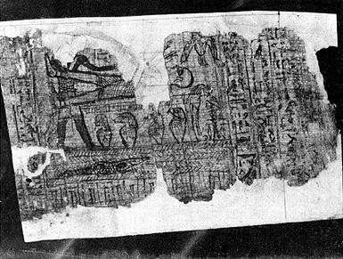 Original papyrus manuscript