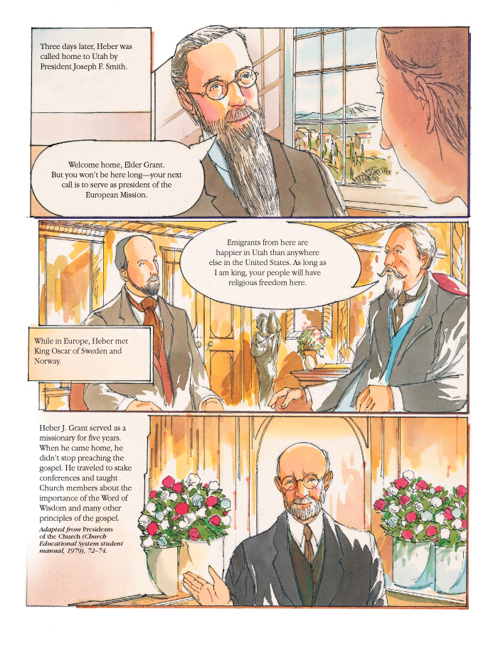 Events in the life of President Grant