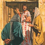 Peter and John prepared the feast