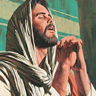 Jesus prayed to His father