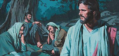 Jesus prayed again