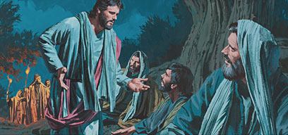Jesus tells others He will be betrayed