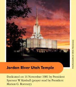 Jordan River Utah Temple