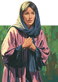 Mary Magdalene couldn't find Jesus' body