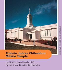 Colonia Juárez Chihuahua México Temple