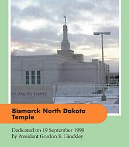 Bismarck North Dakota Temple