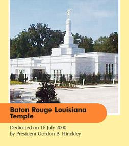Baton Rouge Louisiana Temple