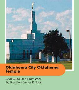 Oklahoma City Oklahoma Temple