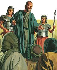 Paul testifies to the people
