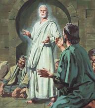 Jesus visits Paul
