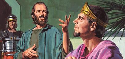 Paul testifies of Jesus