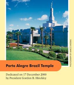 Porto Alegre Brazil Temple