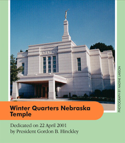 Winter Quarters Nebraska Temple