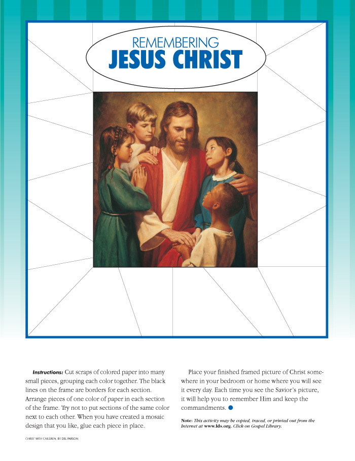 picture regarding My Heart Christ's Home Printable titled Jesus Christ