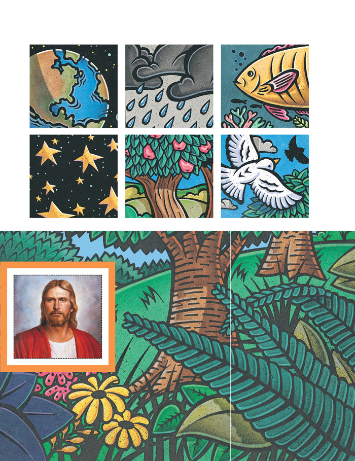 Creations of Jesus, right page