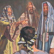 Pharisees were angry with Jesus