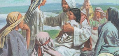 Jesus said let them come