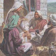Lazarus, Mary and Martha