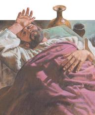 Lazarus was sick