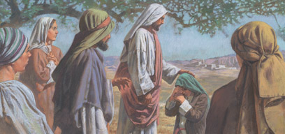 Jesus loved Mary, Martha and Lazarus