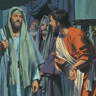 Pharisees afraid people would listen to Jesus