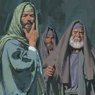 Pharisees were angry