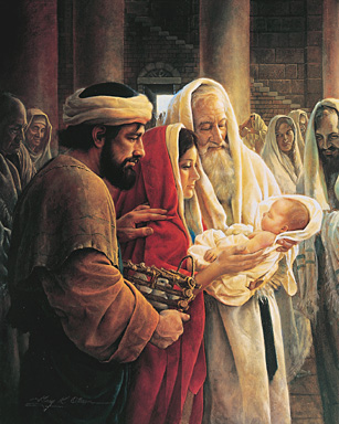 Simeon Reverencing the Christ Child