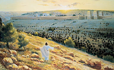 Christ Laments over Jerusalem
