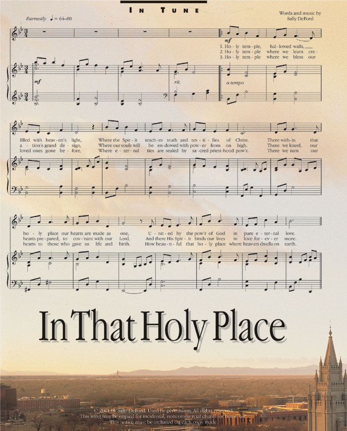 Music, In That Holy Place