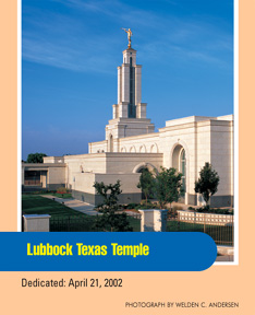 Lubbock Texas Temple