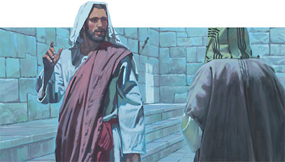 Nicodemus spoke with Jesus one night