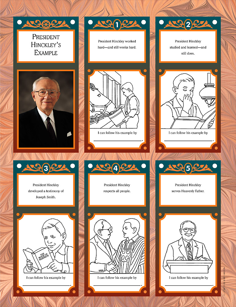 Book about President Hinckley