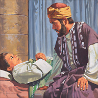 A leader had a sick son