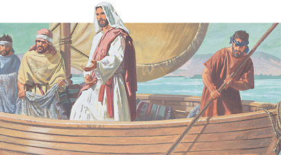 Jesus showed Peter where to fish