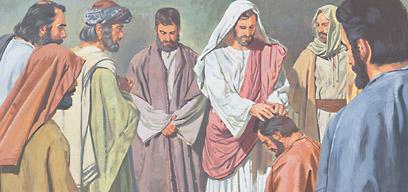 Jesus ordained Twelve Apostles