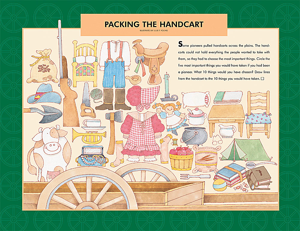 Packing the handcart