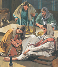 an understanding of the sinful woman who washed jesus feet with her hair A sinful woman forgiven  was one of those reclining with him at table 3 m mary therefore took a pound 1 of expensive ointment made from pure nard, and anointed the feet of jesus and.