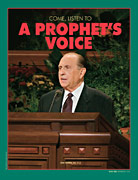 President Monson at pulpit