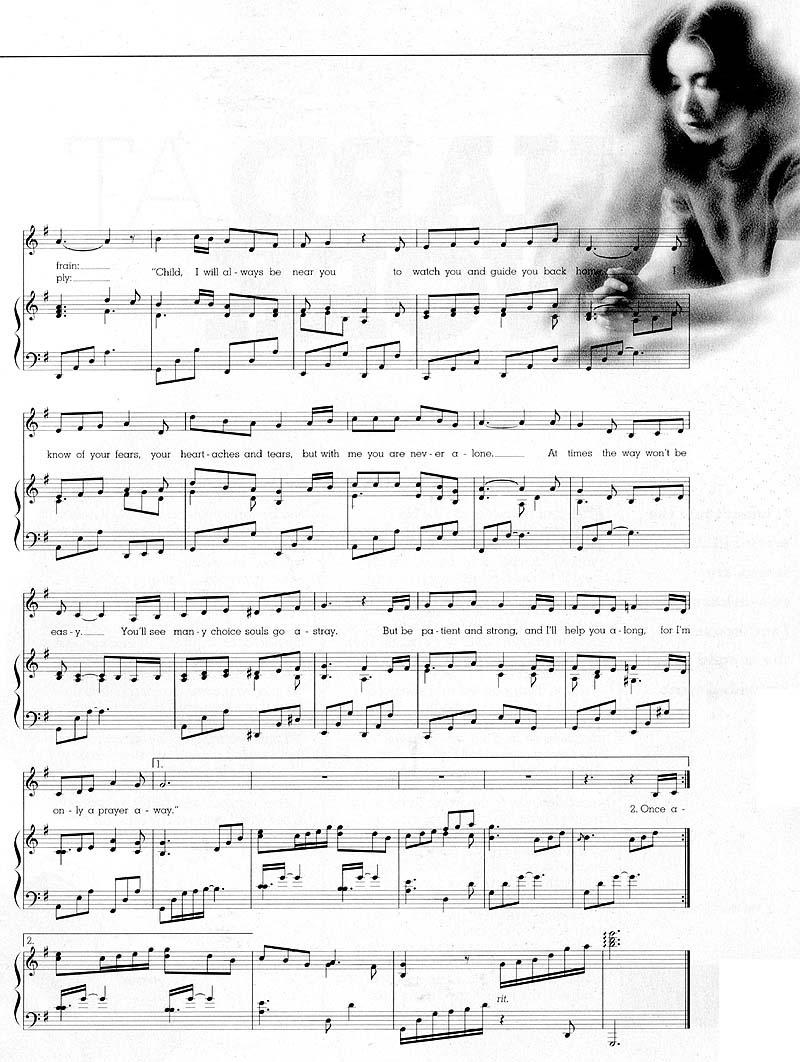 Music, Only a Prayer Away