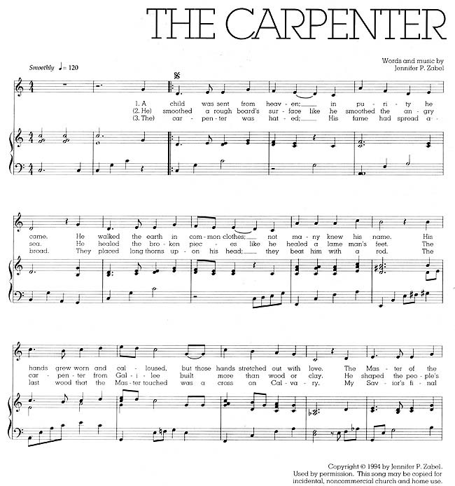 Music, The Carpenter