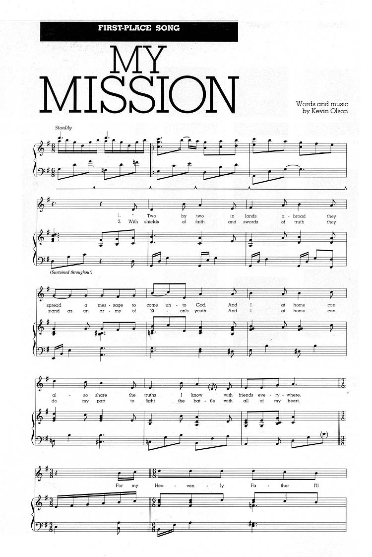 Music, My Mission